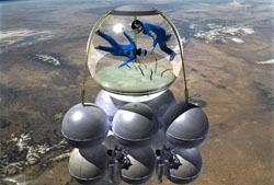 Armadillo Aerospace's Vertical Tourships
