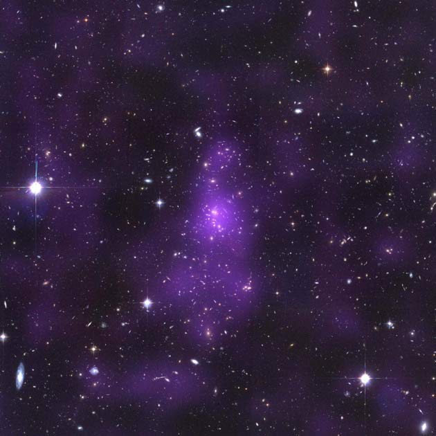Hubble Sheds Light on Dark Matter