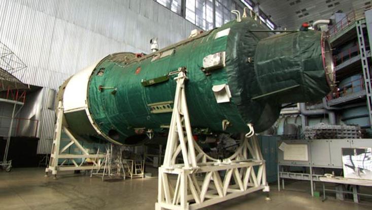 Soviet Union's Almaz Space Station