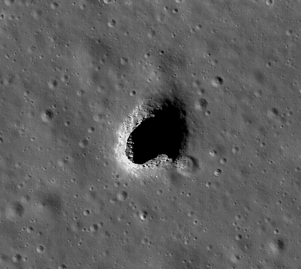 Two Lunar Pits
