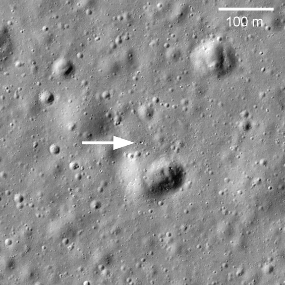 NASA's LRO recently discovered the Russian Robotic rover Lunokhod 1 that landed on the moon in 1970 and vanished from detection in September 1971.