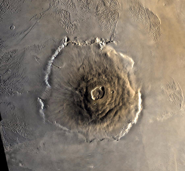 The highs and lows of Mars