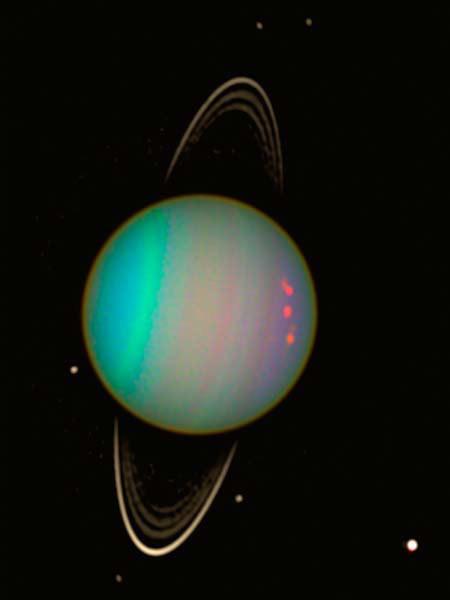 Rare Photo: Auroras on Uranus Spotted by Hubble Telescope
