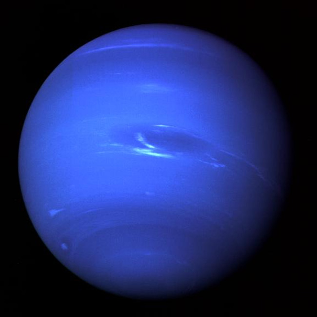 Neptune's winds travel at more than 1,500 mph, and are the fastest planetary winds in the solar system.
