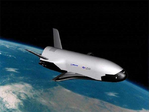 X-37B in Space