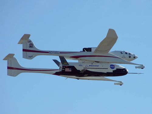 X-37 Flies At Mojave But Encounters Landing Problems