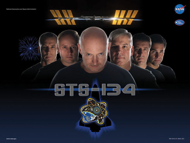 Live Long and Prosper? Endeavour Shuttle Crew Recreates 'Star Trek' Film Poster