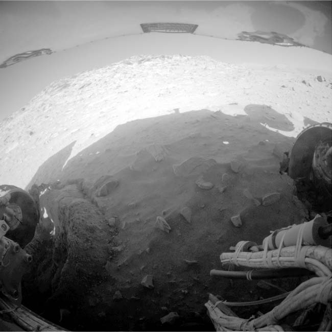 NASA's Hobbled Spirit Rover Parks for Winter on Mars
