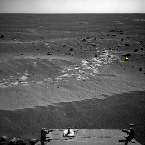 Mars Rover Gets Mind of Its Own