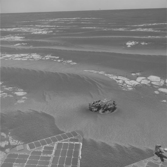 Mars Rover Spots Another Meteorite