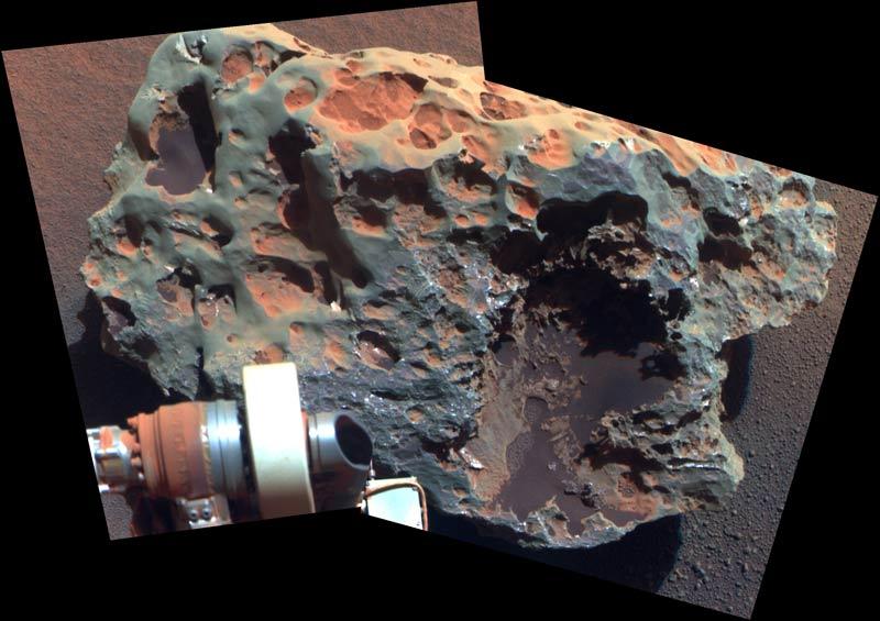 Mars Meteorite Reveals Clues Into Planet's Past