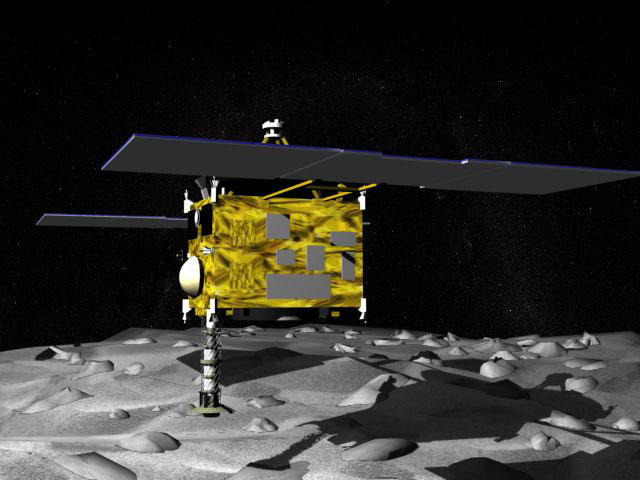 hayabusa space mission - photo #3