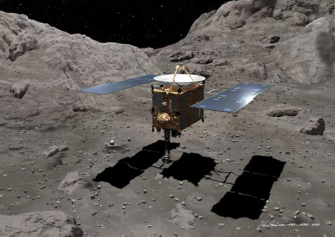 Asteroid-Sampling Spacecraft Returning to Earth in June