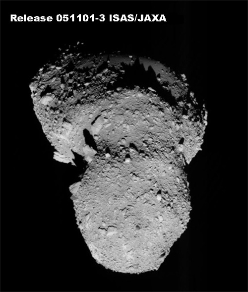 Japan's Hayabusa Closes in on Asteroid Landing Site