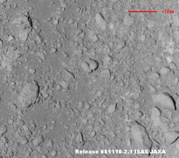 itokawa asteroid surface - photo #10