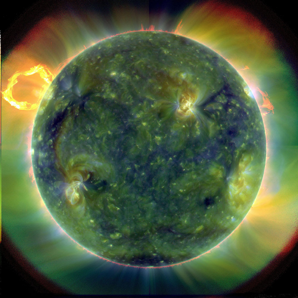 'Spectacular' First Images from New Solar Observatory Released