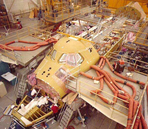 space shuttles were built where - photo #18