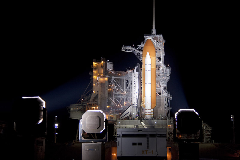 Fuel Leak Delays Launch of Space Shuttle Discovery
