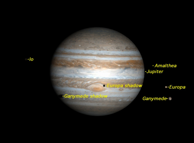 Jupiter's Moons to Perform Weekend Show for Skywatchers