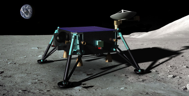 Designers of Hopping Spacecraft Hope to Win Private Moon Race