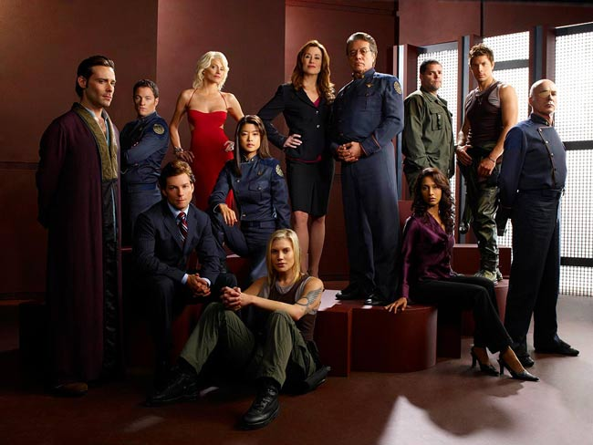Science of 'Battlestar Galactica' Revealed at NY Comic Con