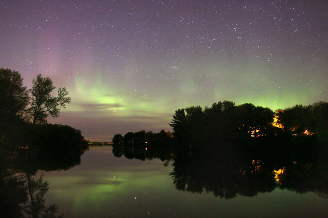 Stunning Auroras May Return Saturday