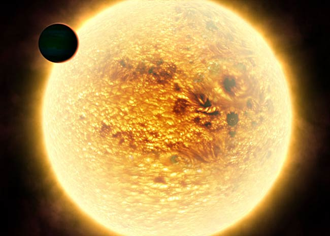 Hottest Known Planet May Use Shock Wave to Save Atmosphere