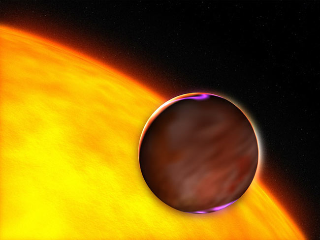 Backyard Approach Finds Extrasolar Planet