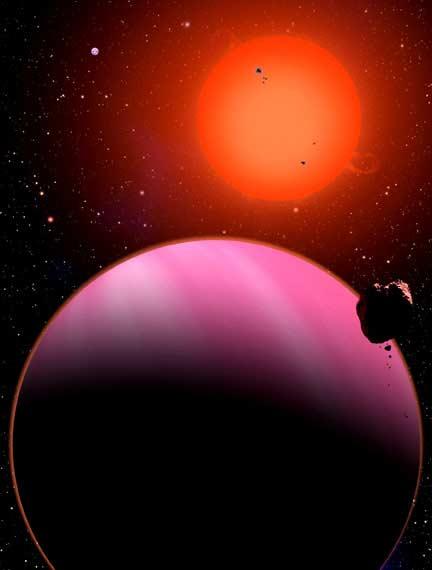 Super-Neptune Planet Found