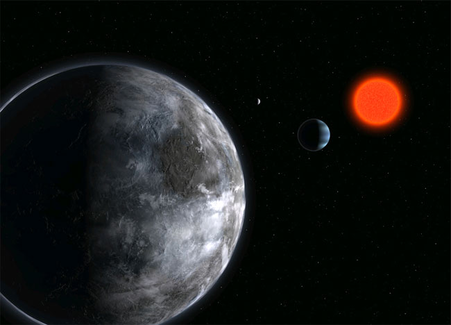 Can Life Thrive Around a Red Dwarf Star?