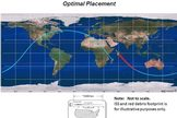 This NASA chart depicts a potential disposal orbit for the International Space Station, a path that would send the huge orbiting complex plunging into Earth's atmosphere to crash into a remote ocean waters.
