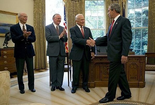 White House Rendezvous With Apollo 11 Crew