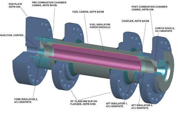 SpaceShipOne Rocket Engine Gets an Upgrade