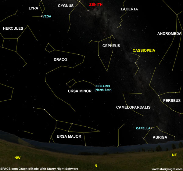 Queen of the Sky: An Easy-to-Spot Star Pattern