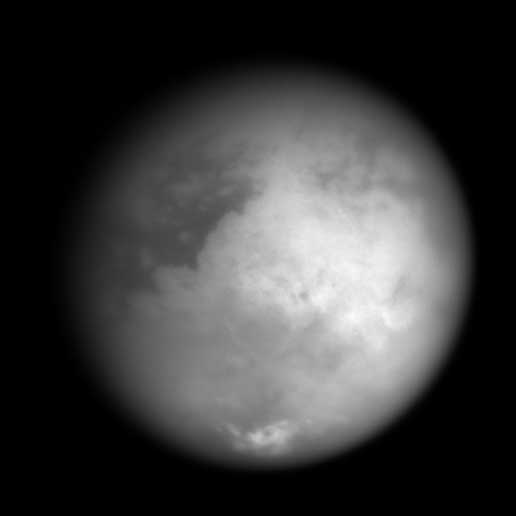 Cassini Snaps Closest Images Ever of Saturn's Moon Titan
