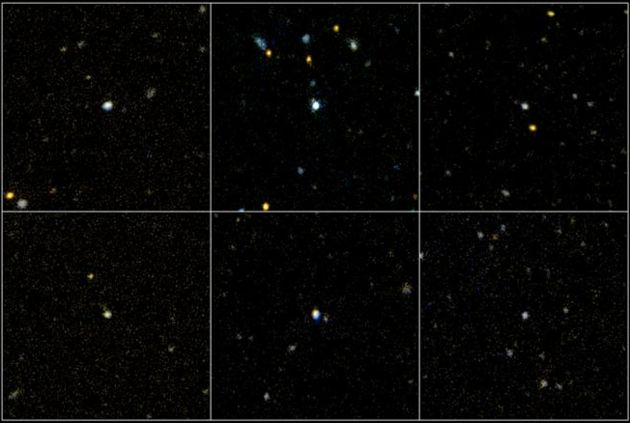 Youthful Galaxies Surprise Astronomers