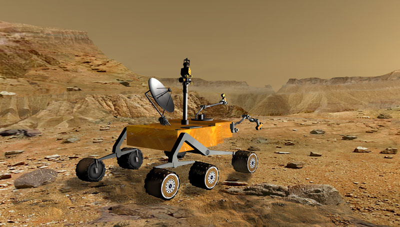 Mars Science Laboratory: Next Wheels On Mars