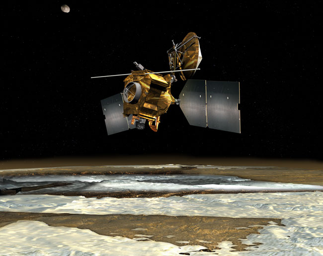 Orbiter to Look for Lost-To-Mars Probes