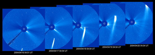 Contest to Pick Timing of SOHO's 1,000th Comet