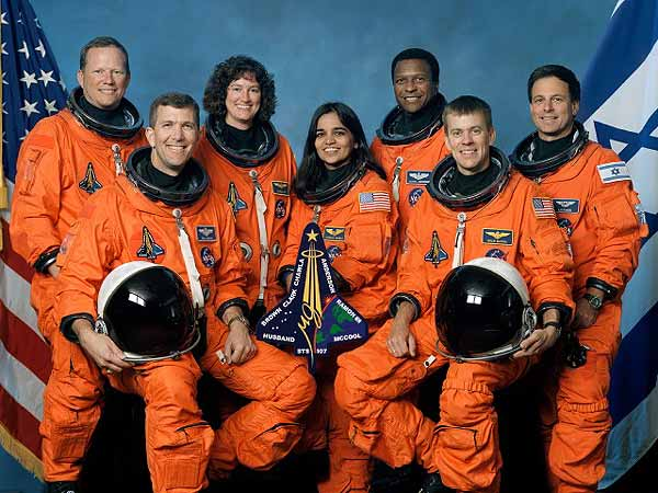 Columbia's STS-107 Crew
