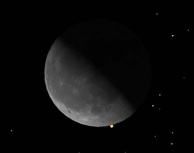 Stellar Eclipse: Moon to Hide Bright Star March 3