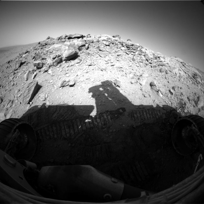 Spirit on Mars: Vista Viewing At Larry's Lookout