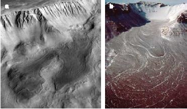 New Signs of Recent Glaciers, Volcanoes and Flowing Water on Mars