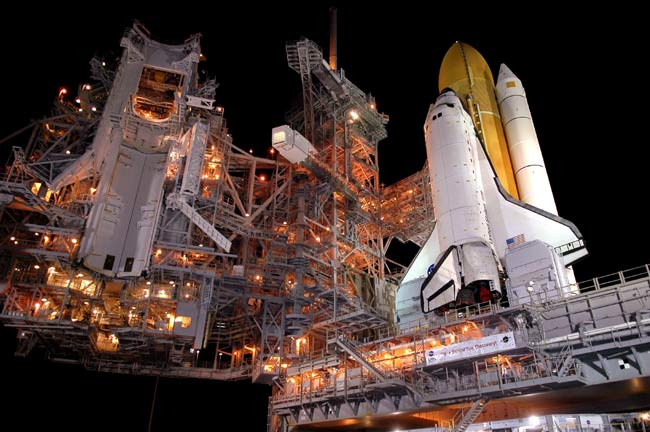 Mock Countdown Begins for STS-114 Crew