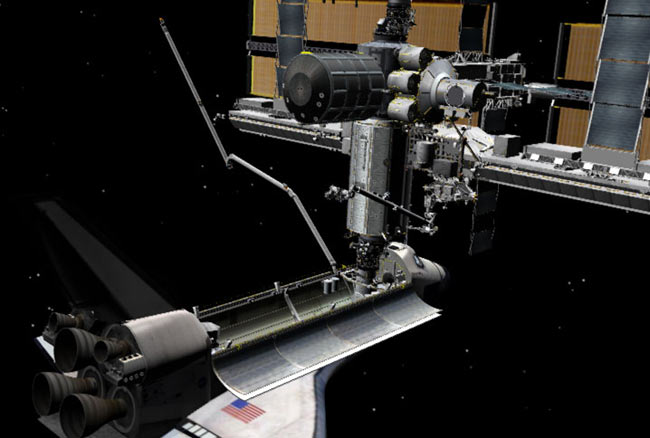 For STS-114 Crew, a Robotic Arm Ballet Awaits