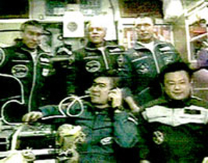 Space Station Crew Greets Replacements With Open Arms