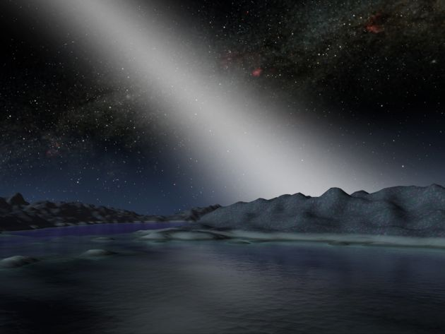 Asteroids Likely Found around Sun-like Star