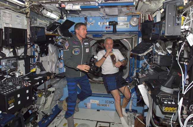 Fresh Astronaut Crew Takes Charge of ISS