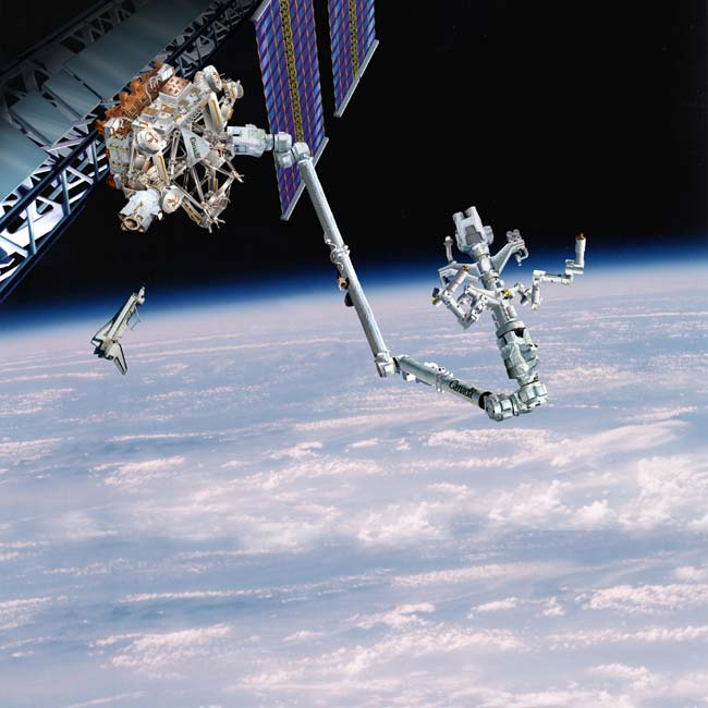 Remote Access: Canadarm 2 Gets a Hand From Ground Control