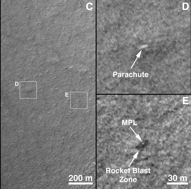 Mars Polar Lander: Clues From the Crash Site